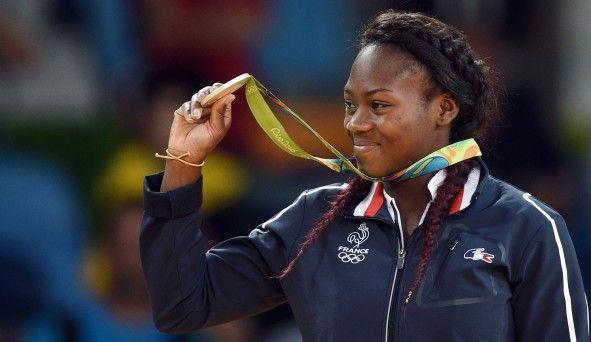Pour ses premiers Jeux Olympiques, la judokate Clarisse Agbegnenou (-63kg) monte sur la deuxième marche du podium aux Jo de Rio 2016
