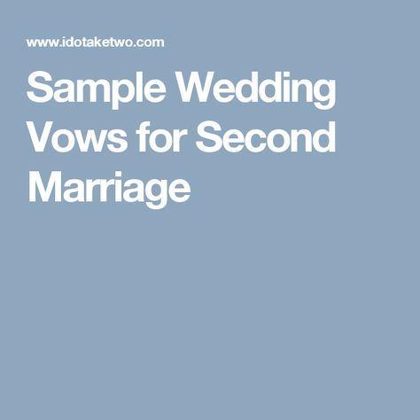 The 25+ best Sample wedding vows ideas on Pinterest | Sample ...