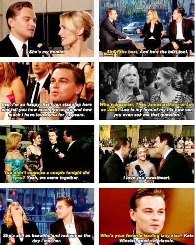 """Leo is the love of my life. How could you even ask me that question?"""