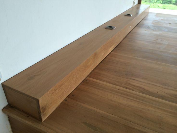 Wooden head board. Ubud Bali