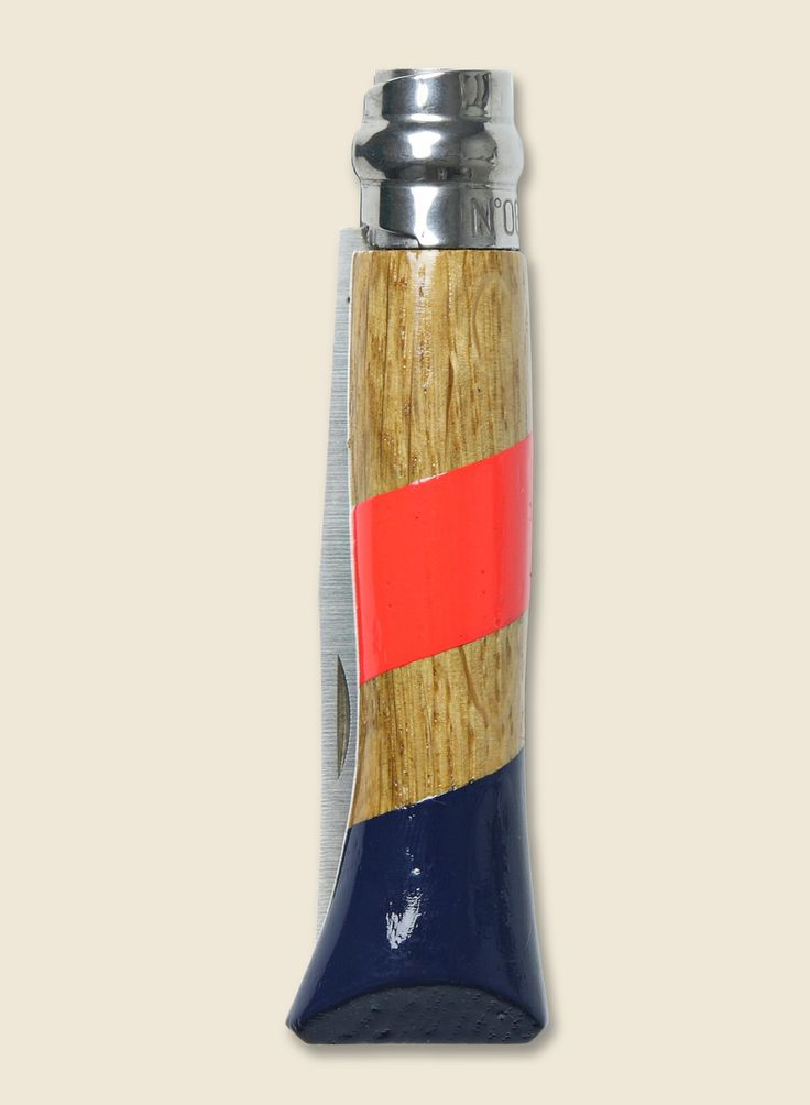 Whiskey Knife - Navy & Coral