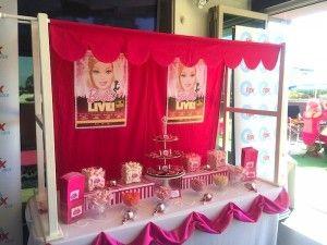 Kara's Party Ideas Mattel Barbie Pearl themed birthday party via Kara's Party Ideas | Cake, decor, cupcakes, games and more! KarasPartyIdeas.com #barbieparty #barbie #barbiedoll #girlypartyideas #partdecor (10) | Kara's Party Ideas