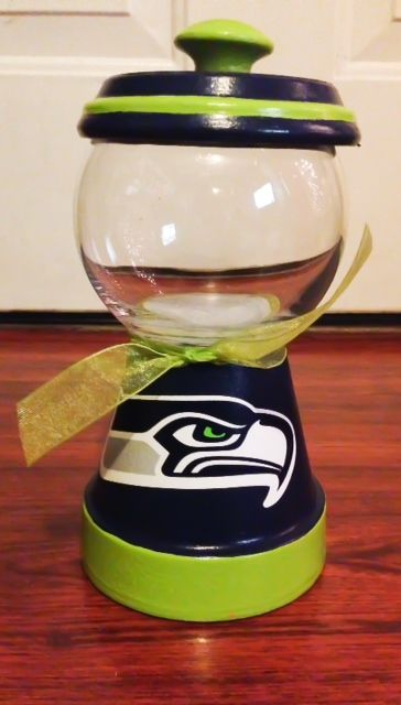Seattle Seahawks Candy Dish http://squareup.com/market/erica-alejandre-2