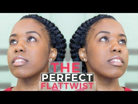 How To 2 Flat Twists On Natural Hair Protective Style Youtube Natural Hair Twist Out Natural Hair Styles Flat Twist