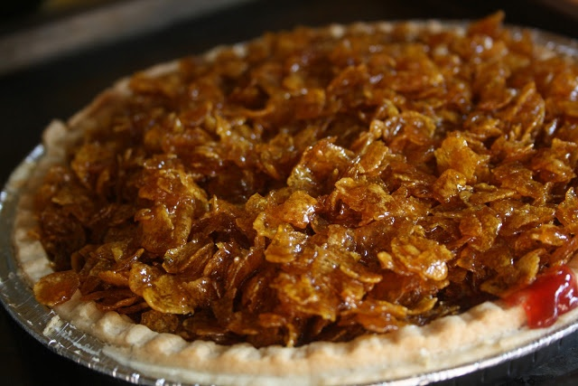 Old School Cornflake Tart - this is definitely being made tomorrow and served with a big jug of hot custard, yum!