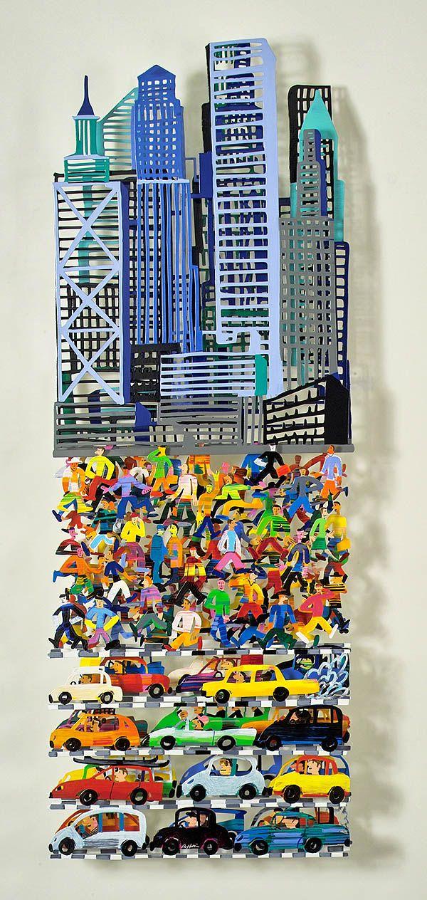 David Gerstein, wall sculpture.