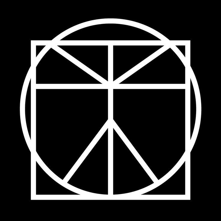 #Vitruvian #Man #DaVinci #Geometric #Modernism