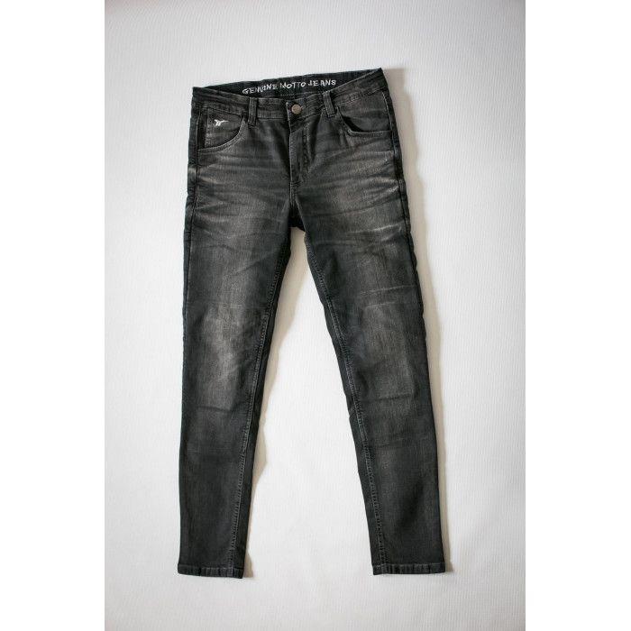 Jeansy Motocyklowe Motto Wear Milano Szare Grey Jean Grey Fashion