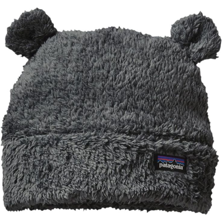 Patagonia - Baby Furry Friends Hat - Infant Boys' - Forge Grey