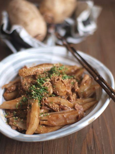 豚小間蓮根甜麺醤炒め。 by ささきのりこ。   レシピサイト「Nadia   ナディア」プロの料理を無料で検索