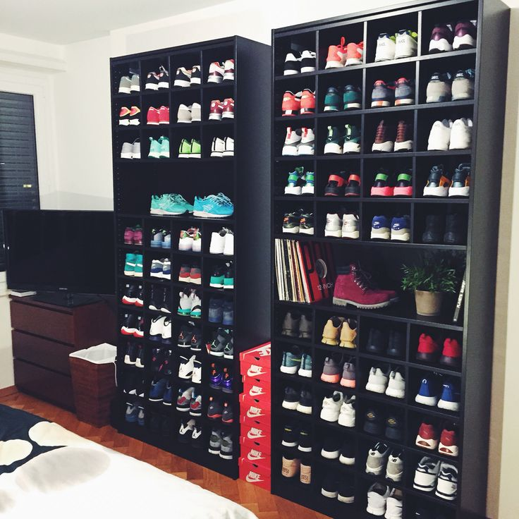 The 25 Best Sneaker Storage Ideas On Pinterest Shoe
