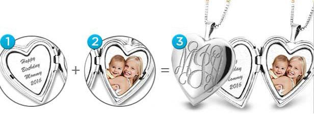 Silver Lockets | Sterling Silver Lockets Customizable--very cool