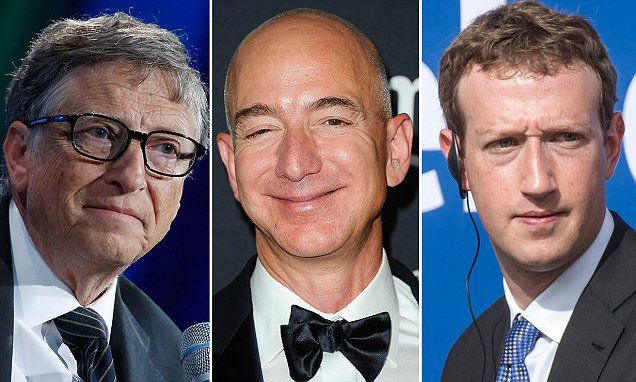 Forbes 400 richest Americans list shows Jeff Bezos made $16B in a year