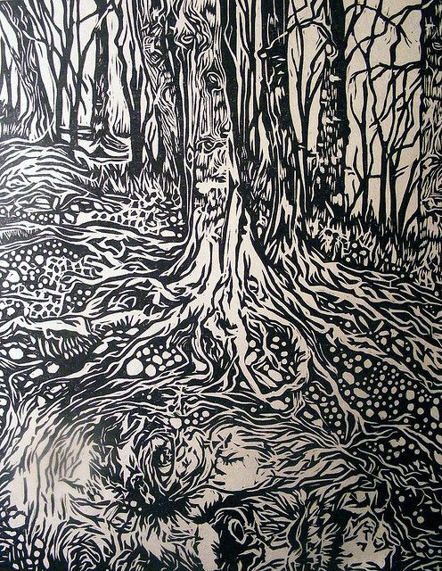 Best images about black and white linocut on pinterest
