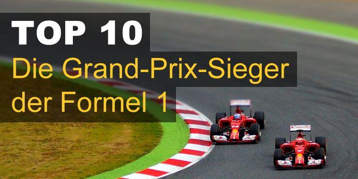 Die Grand-Prix-Sieger der Formel 1