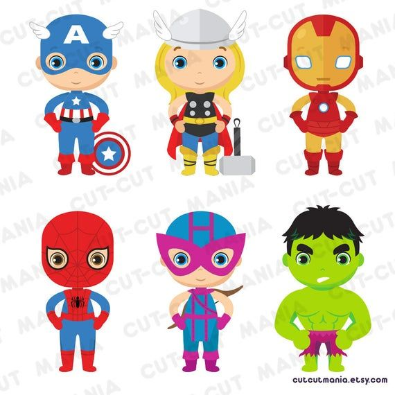 Classic Superheroes Clipart Avengers Clipart Marvel Superheroes Clipart Super Heroes Png Heroes Clip Art Card Design Avengers