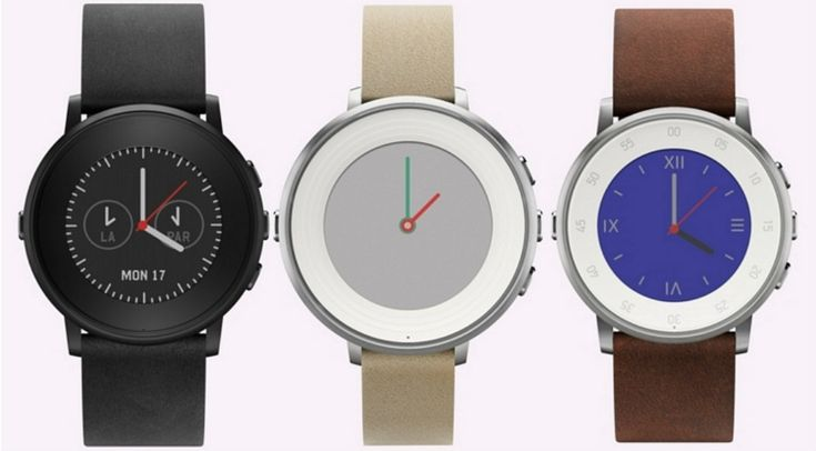 The Pebble Time Round: Pebble's Latest Smartwatch from www.appcessories....