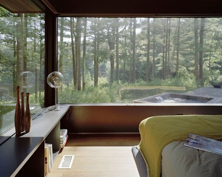 Kettle Hole House by Robert Young - idea : fenetre d'angle