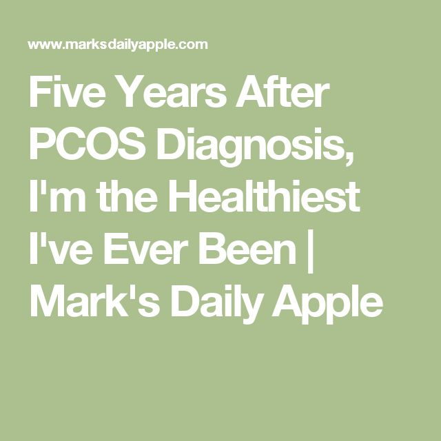 Five Years After PCOS Diagnosis, I'm the Healthiest I've Ever Been | Mark's Daily Apple