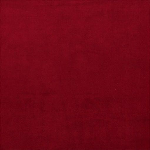Sammet röd - STOFF & STIL