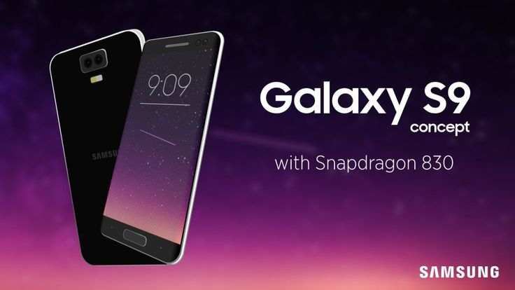Samsung Galaxy S9 Concept Smartphone Specifications (6 GB RAM)