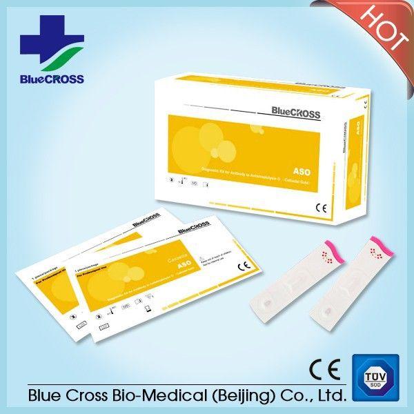 Diagnostic Kit for Antibody to Antistreptolysin O Kits (Colloidal Gold)