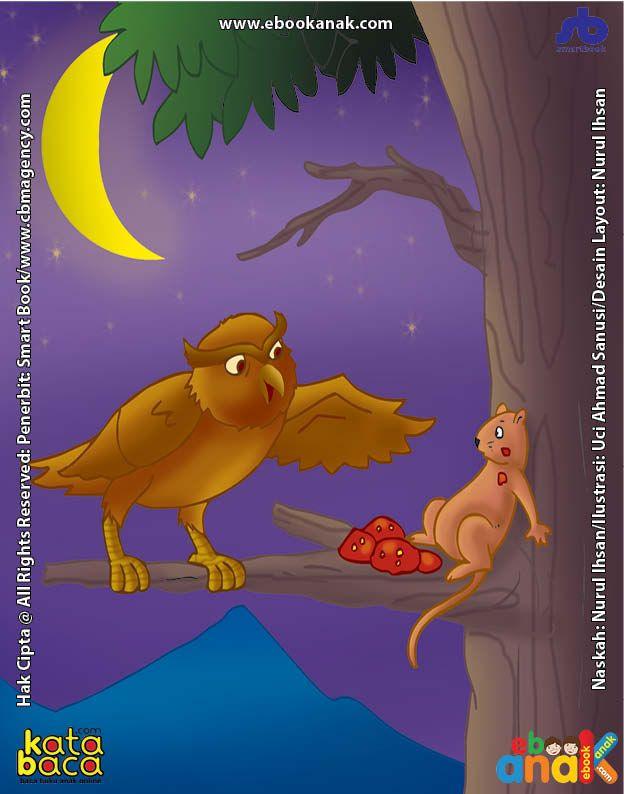 janji tikus kepada burung hantu yang tidak ditepatinya