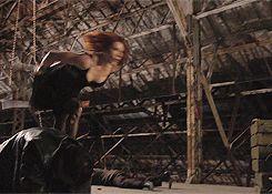 Natasha. Muthafuckin'. Romanoff.