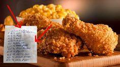 Když v roce 1940 vytvořil Colonel Sanders směs 11 různých druhů bylinek a koření na smažené kuře, ještě netušil, že v následujících desetiletích ji budou uctívat miliony lidí po celém světě. Bylinková směs však zůstala pečlivě střeženým rodinným tajemstvím a jeho slavné pikantní smažené kuře (Kentucky Fried Chicken, odsud KFC) se marně snažil svět napodobit. Až doposud.
