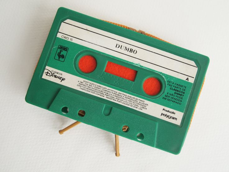 Zippered Cassette Tape Wallet - Dumbo by thepickpocketstore on Etsy