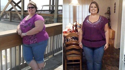 Inspired by Chris Powell, Woman Loses 130 Lbs  Among the standout stories is that of Dana Atkins, a cancer survivor from Lafayette, La. Atkins recalled her 130-pound weight loss success on Good Morning America today.