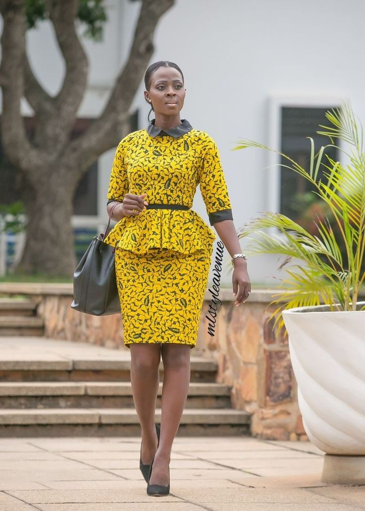 Who says bold African prints can't hold their own in a corporate environment? Definitely not us. Below are 25 African Styles with vibrant African prints that will fit any corporate environment. 25 Fabulous African Style Work Outfits Look #1 Look #2 Look #3 Look #4 Look #5 Look #6 Look #7 Look #8 Look #9 …