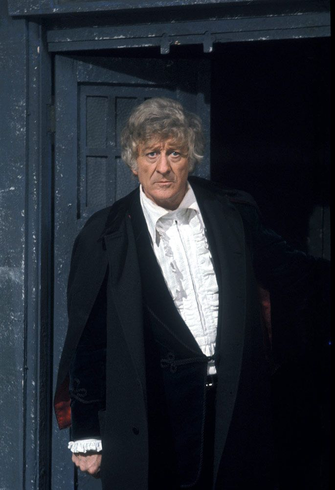The Third Doctor,. Doctor Who