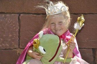 Kindergeburtstag Spiele für Prinzessinnen Party.