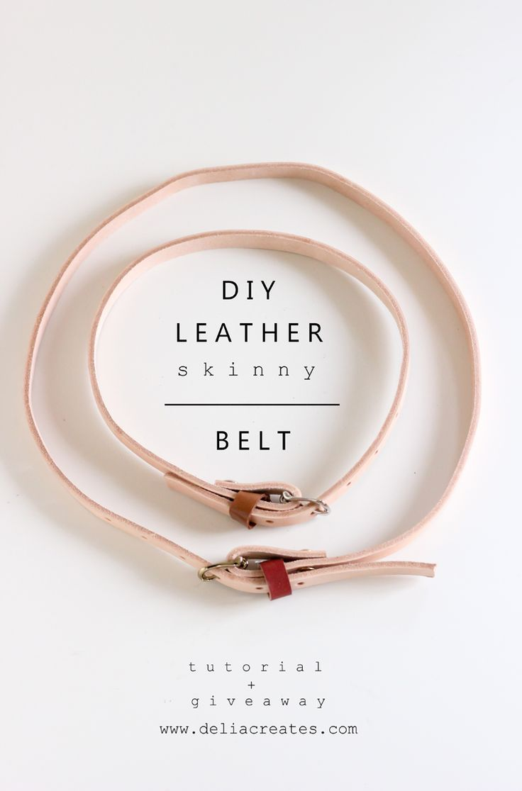 White leather apron lecture - Diy Leather Skinny Belt Tutorial Tandy Leather Giveaway