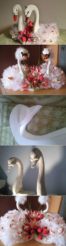 МК - Лебеди... свит-дизайн.