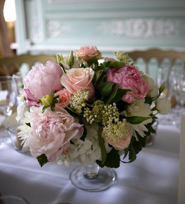 Lisianthus pivoine rose scabieuse wedding flowers for Lisianthus art floral
