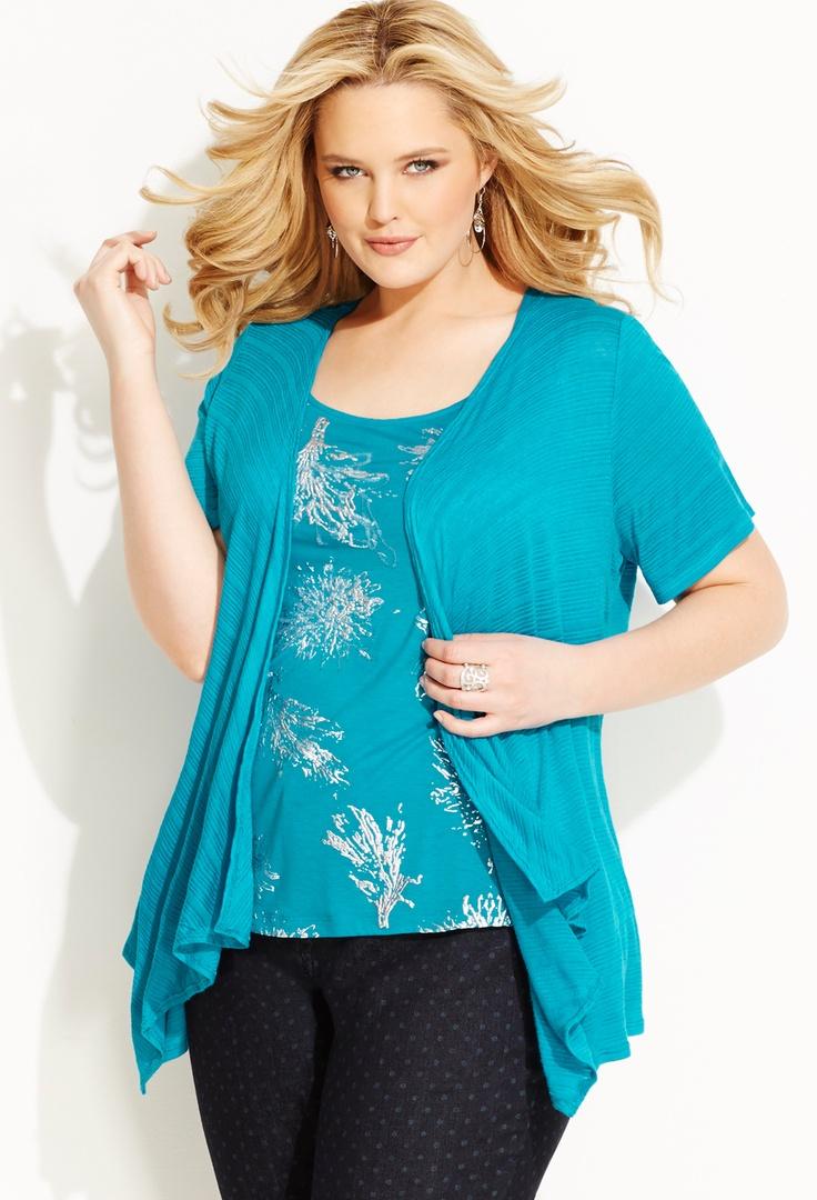 221 best Plus Size Fashion images on Pinterest | Plus size tops ...