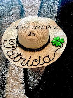 Chapéu Personalizado  Patrícia  cfbe8fd295a