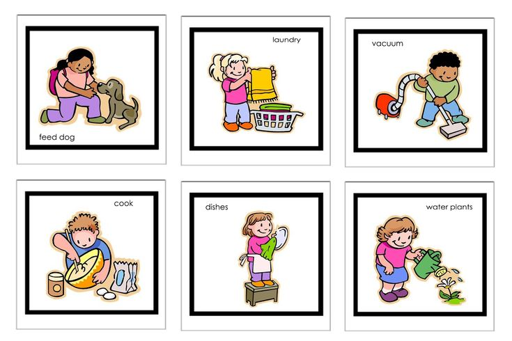 This isn't the printable routine we use, but the kit has 60 printable images to download for free. A great starting point and I love how she uses the clothespins with times.