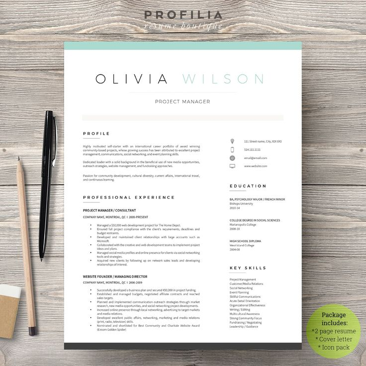 70 best Resume Templates images on Pinterest Plants, Adobe - notepad template for word