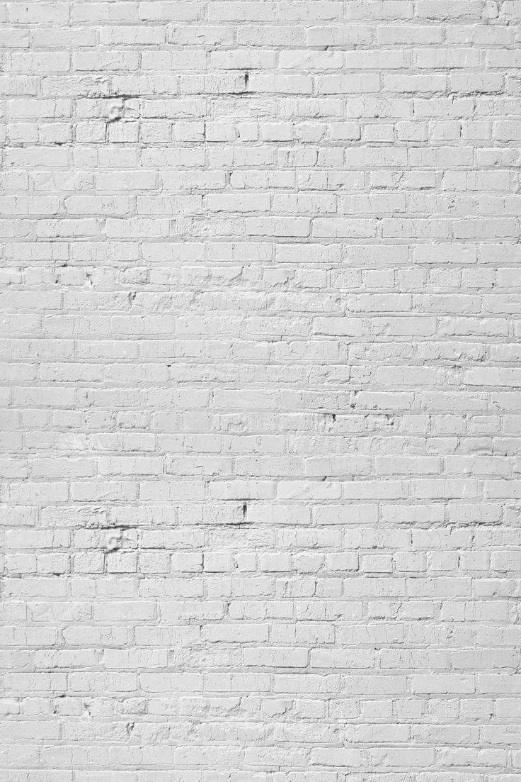 Photography Floors & Backdrops BR19 White Brick Wall