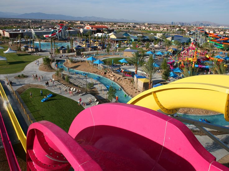 Wet 'n' Wild Las Vegas Water Park with over 25 water slides and attractions.
