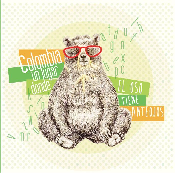 Colombia, un lugar donde el oso tiene anteojos. *Annie
