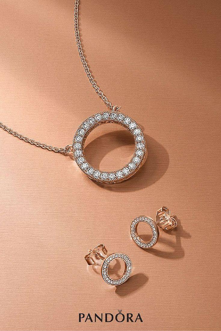 The luminous and elegant PANDORA Rose Signature Collection. #PANDORATexas #PANDORARose #PANDORAjewelry