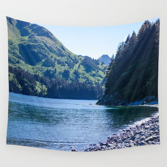 Beach Wall Tapestry | Scenic Tapestry | Bedroom Wall ...