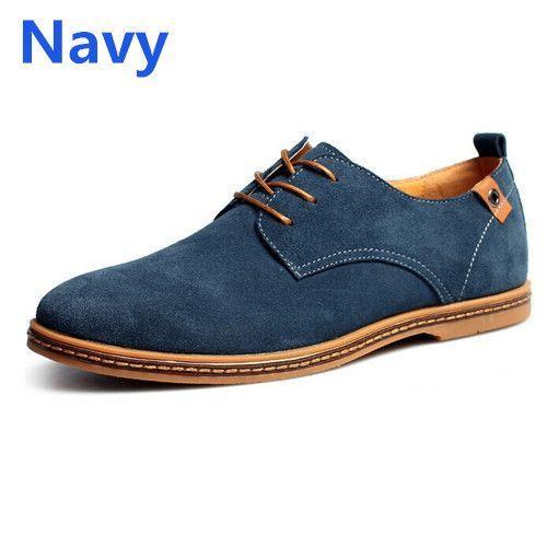 Khaki Dress Suede genuine leather Loafer Item Type: Flats Shoe Width: Medium(B,M) Season: Spring/Autumn Platform Height: 0-3cm With Platforms: Yes Closure Type: Lace-Up Toe Shape: Round Toe Insole Mat