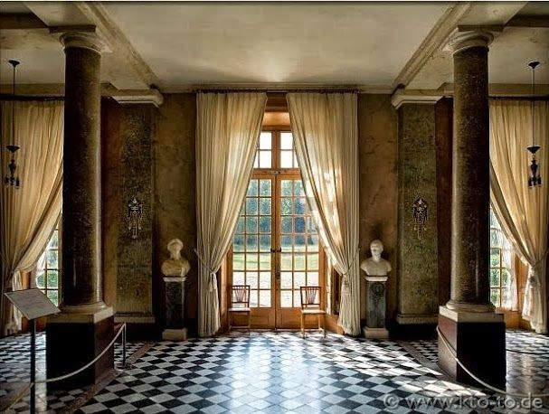 The Interiors Of Chateau De Malmaison Other French
