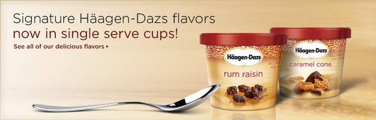 Haagen-dazs Ice Cream, All Natural, Chocolate, 3.6 Fl Oz (106 Ml) by ...