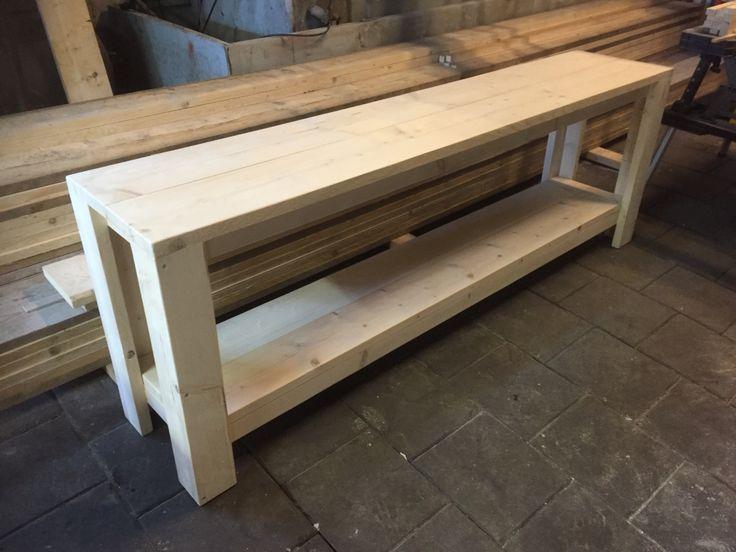 Sidetable Quite gemaakt van steigerhout.